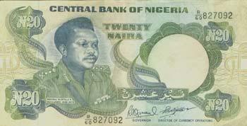 20 Naira Front